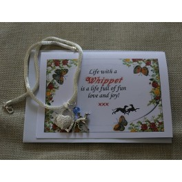 Zilveren pandora style ketting - Whippet - Life with a.....