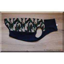 Grote maat Camouflage Body (ruglengte 64 cm)