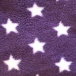 Purple with white star