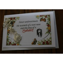 Saluki Ketting - Never underestimate.....