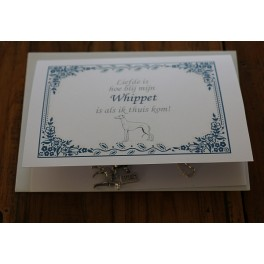 Halsketting - Whippet - Liefde is..